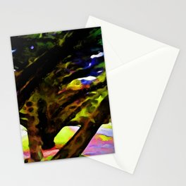 Landscape with Big Branches Stationery Cards