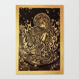 La Loba Canvas Print