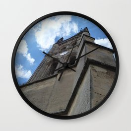 Saint Emilion spire Wall Clock