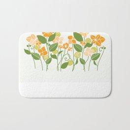 Karis Flowers Bath Mat