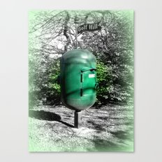 Golf Hill Letter Box Canvas Print