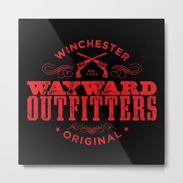 Wayward Outfitters Metal Print