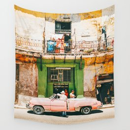 Summer in Cuba Wall Tapestry