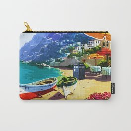 Tardis And The Beach Carry-All Pouch