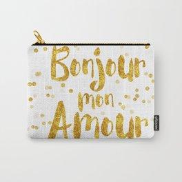 Bonjour mon Amour Carry-All Pouch