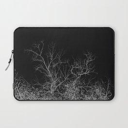 Dark night forest Laptop Sleeve