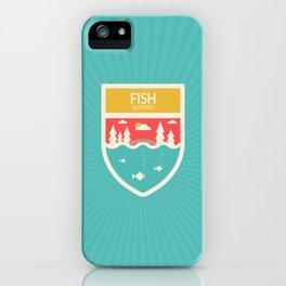 Wilderness: Fish Hatchery iPhone Case