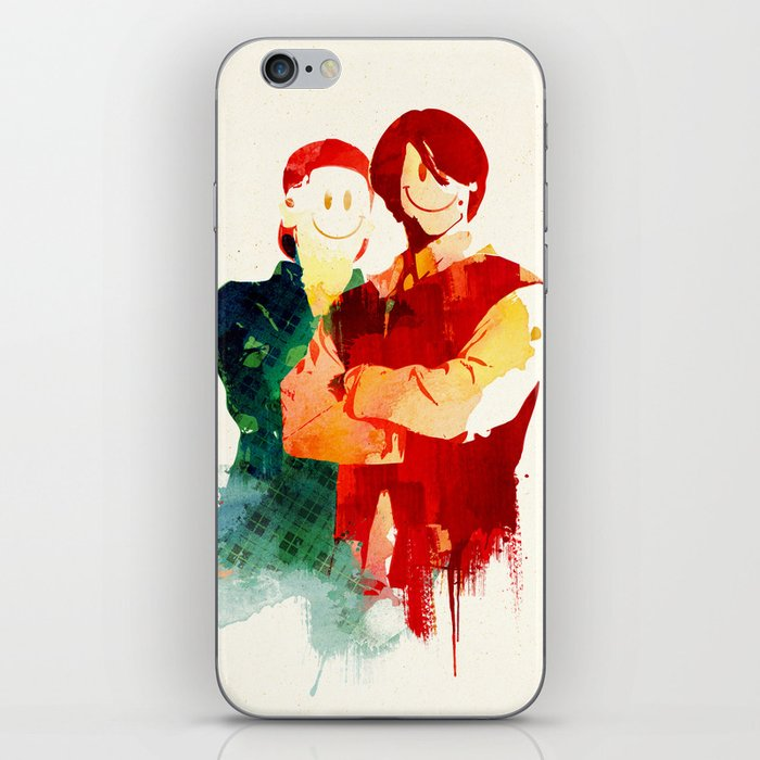 Time Travellers iPhone Skin