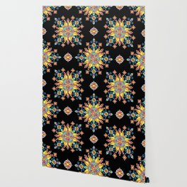 Alhambra Stained Glass Wallpaper