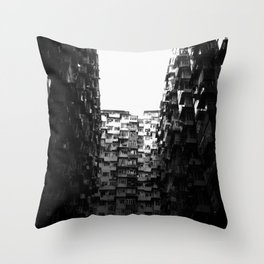 :: Hong Kong Flats :: Throw Pillow