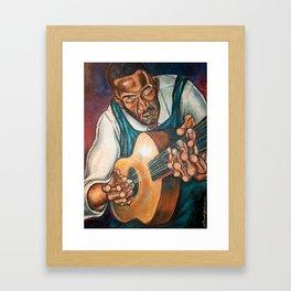 Down  Home Blues Framed Art Print