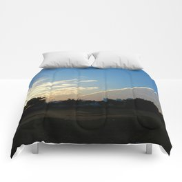 drama in the sky Comforters