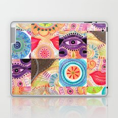 vibrant playful rhythm Laptop & iPad Skin