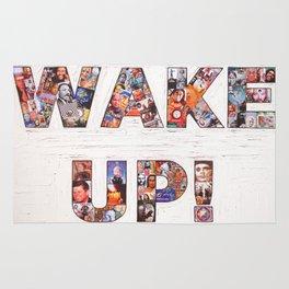 WAKE UP! Rug