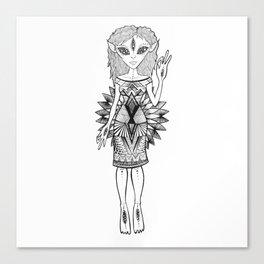 Zeta love Canvas Print