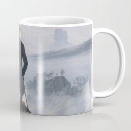 Wanderer above the Sea of Fog Coffee Mug
