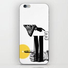 Zero Volume = Zero Cubic Metres iPhone Skin