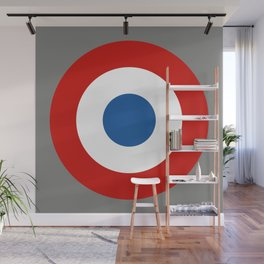 French Roundel Wall Mural