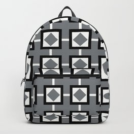 BOXED IN, CHARCOAL Backpack