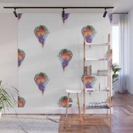 Pepper's Firebird Pattern Wall Mural