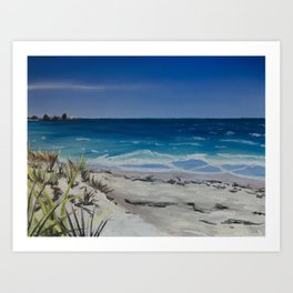 From Coogee Art Print