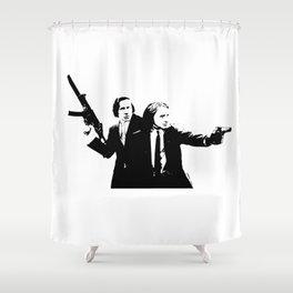 Chopin & Liszt - Gangsters Shower Curtain