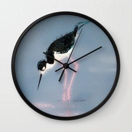 Stilt Pink Legs Wall Clock