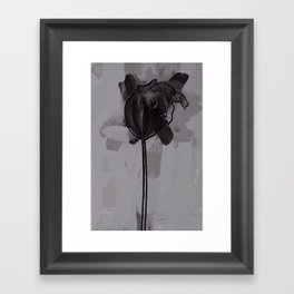 leaf one Framed Art Print