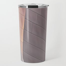 Sunrise architectural abstract of the LA Phil designed by Frank Gehry Travel Mug