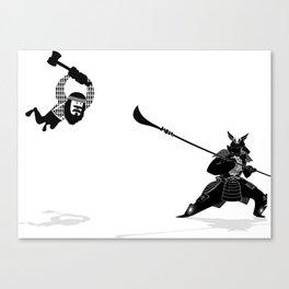 PDX vs TYO Canvas Print