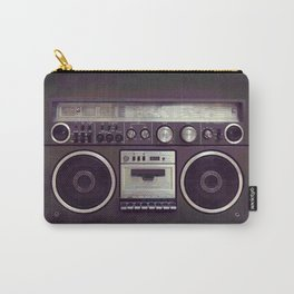 Retro Boombox Carry-All Pouch