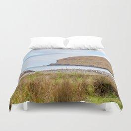 Flea Bay, Akaroa, New Zealand Duvet Cover