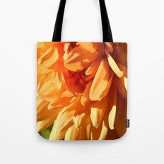 Vermont Autumn Golden Flower Tote Bag