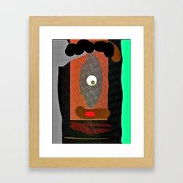 Mr. High IQ Framed Art Print
