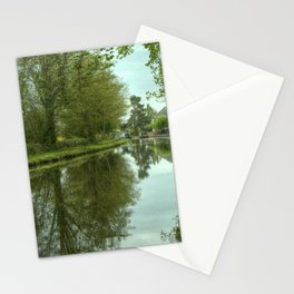 The Canal at Stoke Prior Stationery Cards
