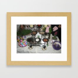 iranian new year  Framed Art Print