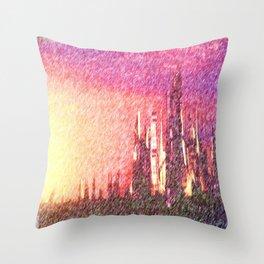 Alteran sunset Throw Pillow
