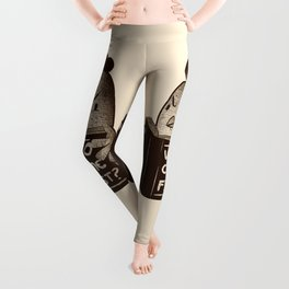 Chicken Who Came First Leggings