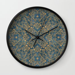 Old Victorian Laces Wall Clock