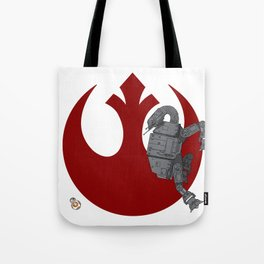 Droid Eek! (red) Tote Bag