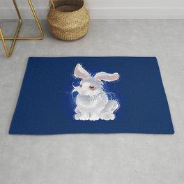 Magic white rabbit Rug