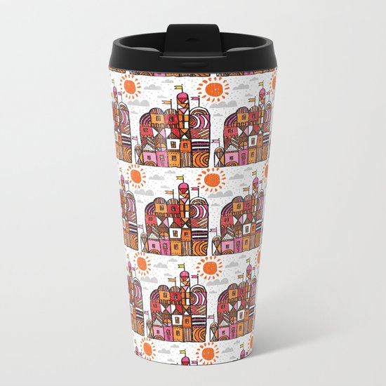 chateau Metal Travel Mug