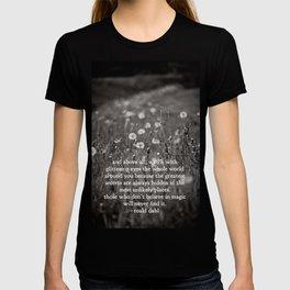 roald dahl's magic T-shirt