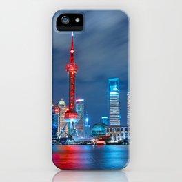 Shangai, China iPhone Case