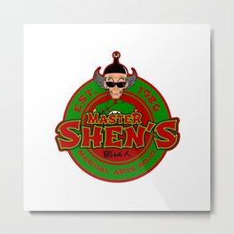 Shen Dojo Metal Print