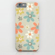 flowers pattern iPhone 6s Slim Case
