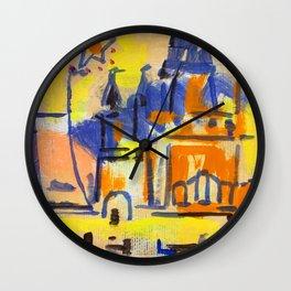 European Capital - Prag Wall Clock
