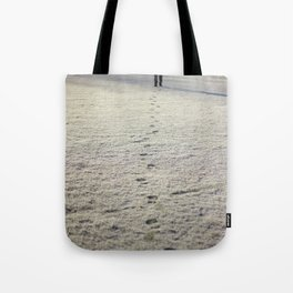 Trace in Snow Tote Bag
