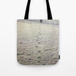 Trace in Snow Tote Bag