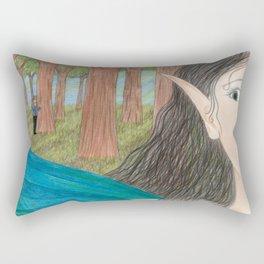 Royal Admirer Rectangular Pillow